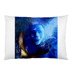 Blue Mask Pillow Cases (two Sides)