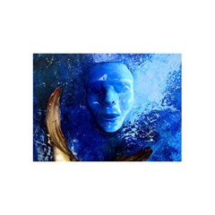 BLue Mask YOU ARE INVITED 3D Greeting Card (8x4)