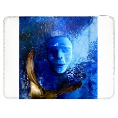 BLue Mask Samsung Galaxy Tab 7  P1000 Flip Case