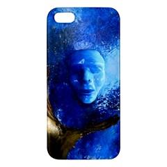 Blue Mask Iphone 5s Premium Hardshell Case