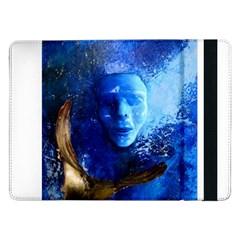 BLue Mask Samsung Galaxy Tab Pro 12.2  Flip Case