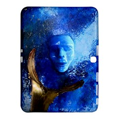 Blue Mask Samsung Galaxy Tab 4 (10 1 ) Hardshell Case