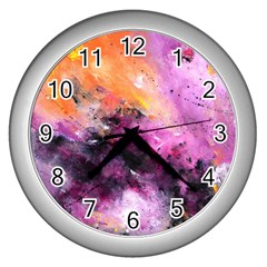 Nebula Wall Clocks (silver)