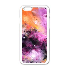 Nebula Apple iPhone 6 White Enamel Case