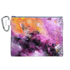 Nebula Canvas Cosmetic Bag (XL)