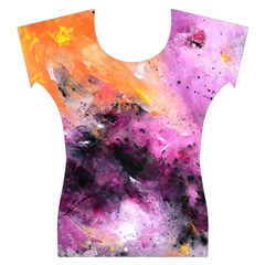 Nebula Women s Cap Sleeve Top