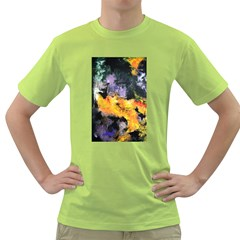 Space Odessy Green T-Shirt