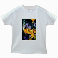 Space Odessy Kids White T-Shirts