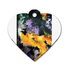 Space Odessy Dog Tag Heart (two Sides)