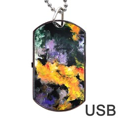 Space Odessy Dog Tag USB Flash (One Side)