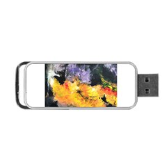 Space Odessy Portable Usb Flash (one Side)