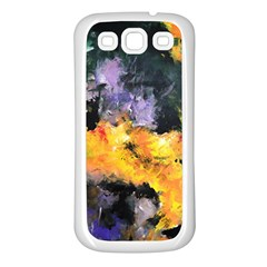 Space Odessy Samsung Galaxy S3 Back Case (white)