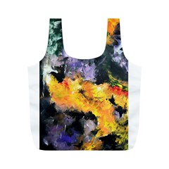 Space Odessy Full Print Recycle Bags (M)