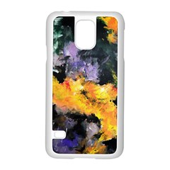 Space Odessy Samsung Galaxy S5 Case (White)