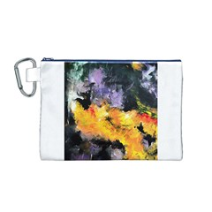 Space Odessy Canvas Cosmetic Bag (M)