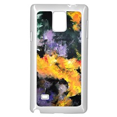 Space Odessy Samsung Galaxy Note 4 Case (White)