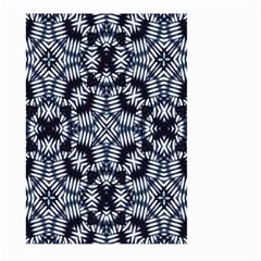Futuristic Geometric Print  Large Garden Flag (Two Sides)