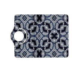 Futuristic Geometric Print  Kindle Fire HD (2013) Flip 360 Case