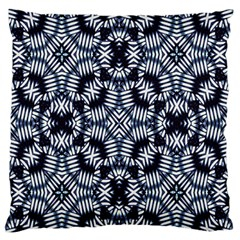 Futuristic Geometric Print  Large Flano Cushion Cases (two Sides)