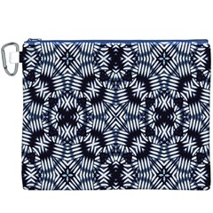 Futuristic Geometric Print  Canvas Cosmetic Bag (XXXL)