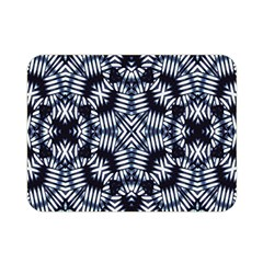 Futuristic Geometric Print  Double Sided Flano Blanket (Mini)