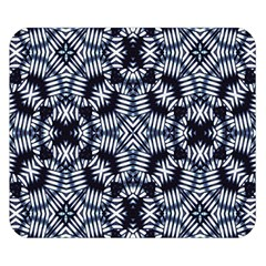 Futuristic Geometric Print  Double Sided Flano Blanket (small)