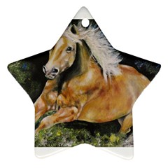 Mustang Ornament (star)