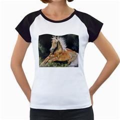 Mustang Women s Cap Sleeve T