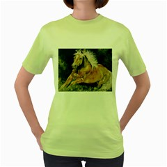Mustang Women s Green T-Shirt