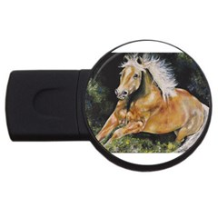 Mustang Usb Flash Drive Round (2 Gb)
