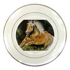 Mustang Porcelain Plates