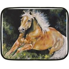 Mustang Double Sided Fleece Blanket (mini)
