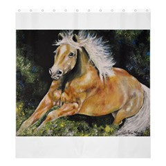 Mustang Shower Curtain 66  x 72  (Large)