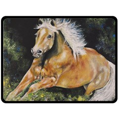 Mustang Fleece Blanket (Large)