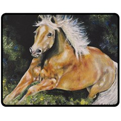 Mustang Fleece Blanket (Medium)