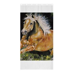 Mustang Shower Curtain 36  x 72  (Stall)