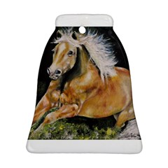 Mustang Bell Ornament (2 Sides)