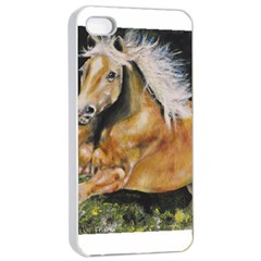 Mustang Apple iPhone 4/4s Seamless Case (White)