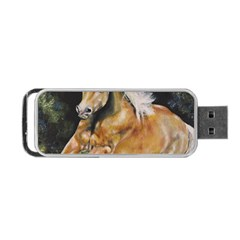 Mustang Portable Usb Flash (one Side)
