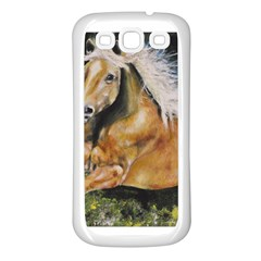 Mustang Samsung Galaxy S3 Back Case (white)