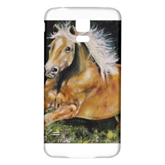 Mustang Samsung Galaxy S5 Back Case (White)