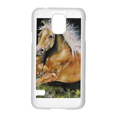 Mustang Samsung Galaxy S5 Case (White)