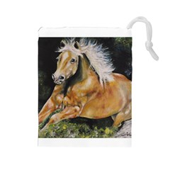 Mustang Drawstring Pouches (large)