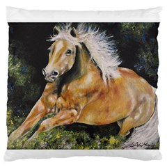 Mustang Large Flano Cushion Cases (one Side)