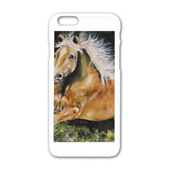 Mustang Apple Iphone 6 White Enamel Case