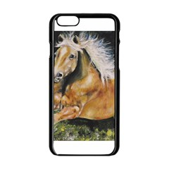 Mustang Apple Iphone 6 Black Enamel Case