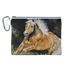 Mustang Canvas Cosmetic Bag (L)