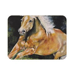 Mustang Double Sided Flano Blanket (Mini)
