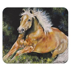 Mustang Double Sided Flano Blanket (small)