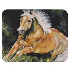Mustang Double Sided Flano Blanket (Medium)